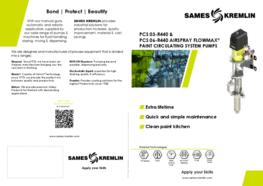 Leaflet 03R440 06R440 Airspray Flowmax® Paint Circulating System Pump (English version) SAMES KREMLIN