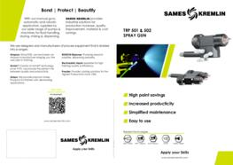Leaflet TRP Automatic Electrostatic Spray Gun (English version) SAMES KREMLIN