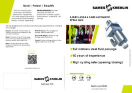 Leaflet ASI 24 Automatic Airless Spray Gun (English version) SAMES KREMLIN