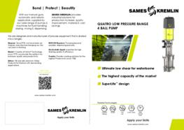 Leaflet REXSON LP QUATRO Paint Circulating System Pump (English version) SAMES KREMLIN
